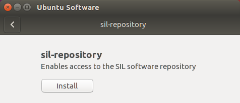 packages sil org - Ubuntu software repository for SIL